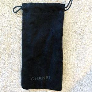 Chanel Sunglasses Cloth Drawstring Pouch